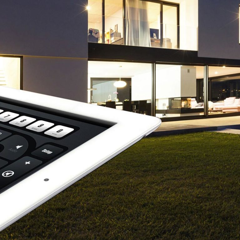 domotique gestion de store avec tablette